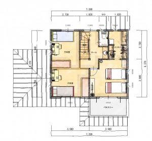 2階 平面図 (7)